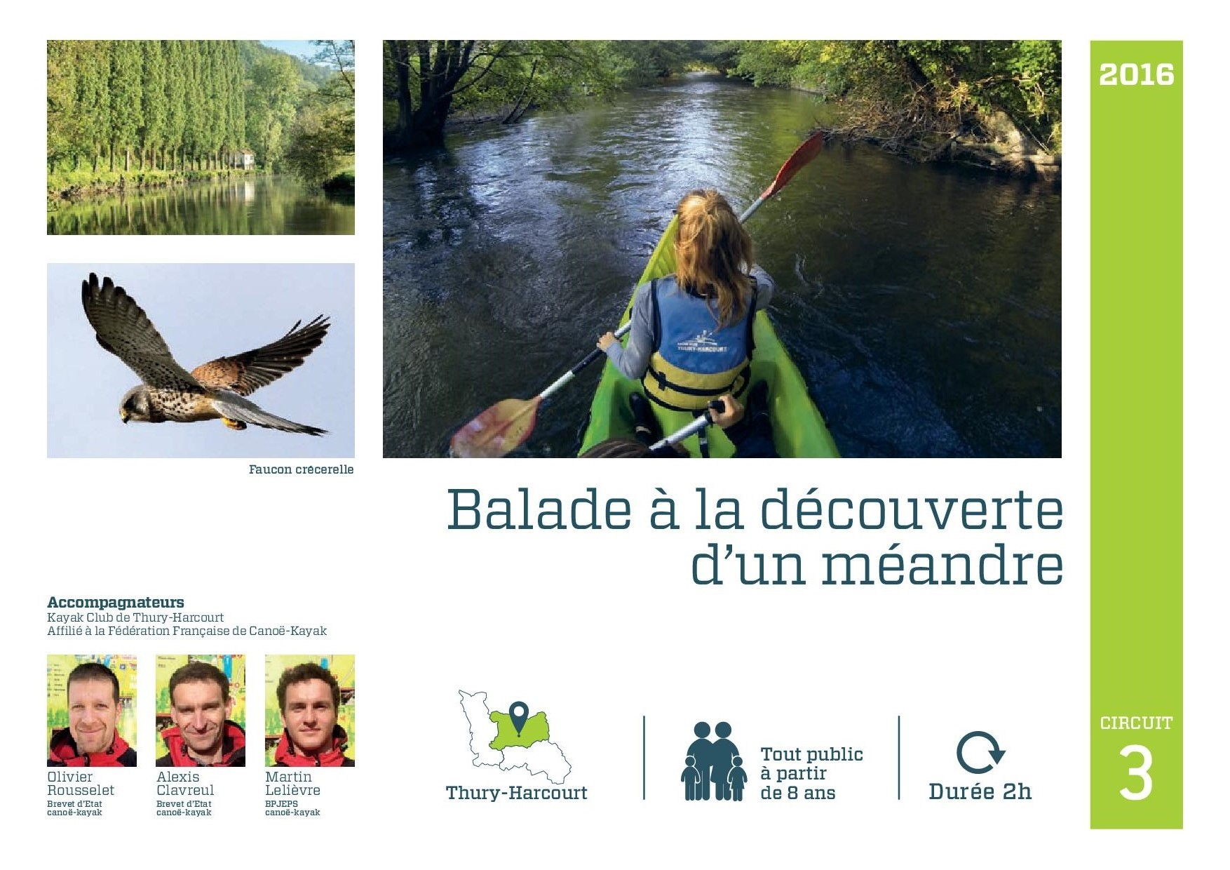 Balade boucle du Hom Suisse Normande Thury canoe kayak riviere(1)