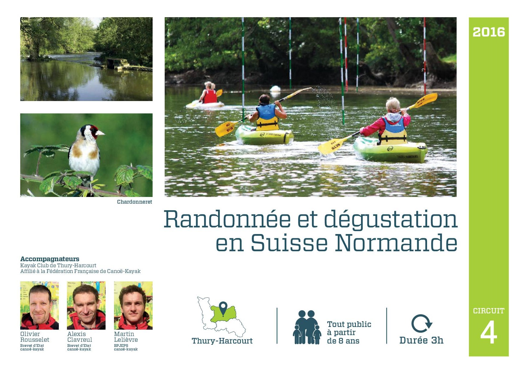 Randonnee degustation Thury Harcourt Suisse Normande canoe kayak riviere