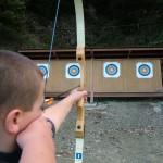 Tir à l'arc activités encadrées groupes enfants famille amis Thury Plein Air Thury-Harcourt Suisse Normande
