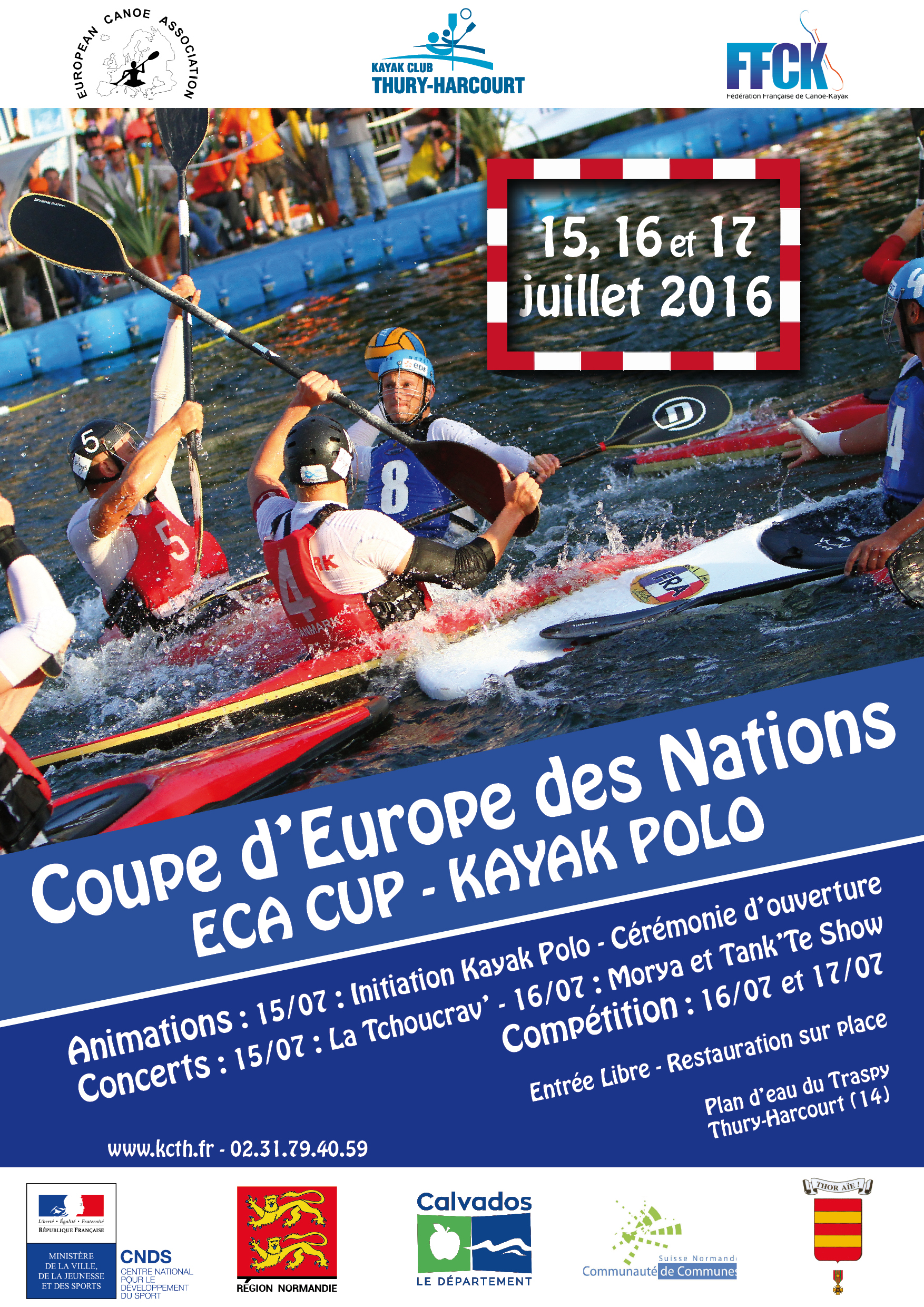 Eca cup coupe d 39 europe des nations 2016 un cocktail d 39 activit s pour tous - Calendrier coupe d europe 2016 ...