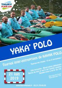 Tournoi kayak polo entreprise
