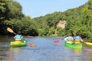 balades nautiques accompagnées canoe kayak Thury-Harcourt Suisse Normande