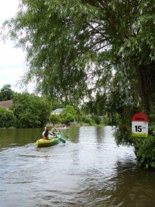 Descente canoë-kayak location sortie balade nautique famille amis Thury Plein Air Thury-Harcourt Suisse_Normande