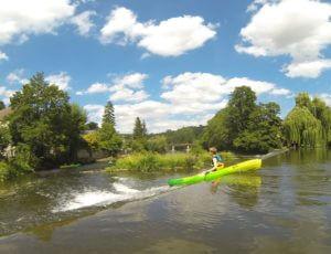 Descente canoë-kayak location sortie balade nautique famille enfants Thury Plein Air Thury-Harcourt Suisse Normande