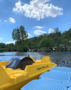 Pédalos sorties balades rivière Orne Thury Plein Air - Thury-Harcourt
