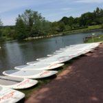 SUP Stand up Paddle activité nautique rivière Orne Thury Plein Air Thury-Harcourt