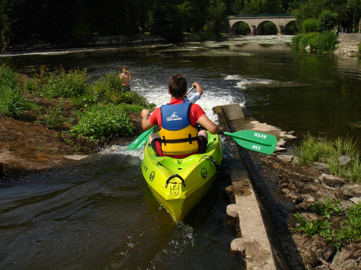 Descente en canoë kayak